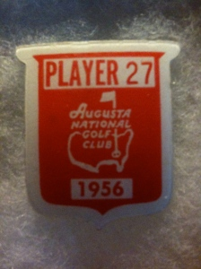 Moe's Augusta Masters National Golf Club Badge