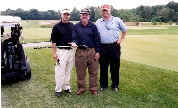 Moe Norman with Todd Graves and Larry Olson