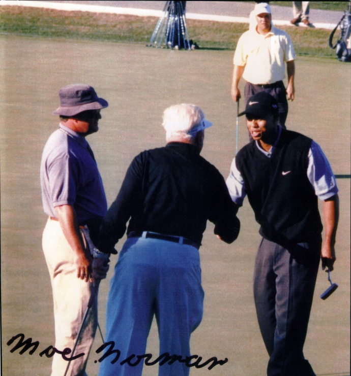 Moe Norman and Tiger Woods