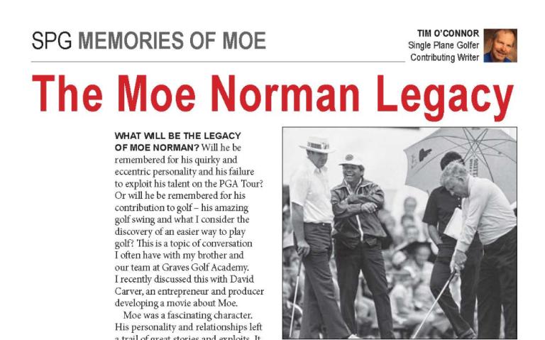Moe Norman Legacy