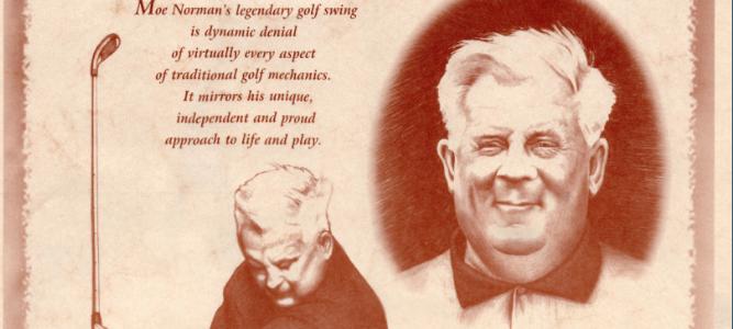 Moe Norman Poster