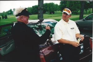 Todd Graves and Moe Norman