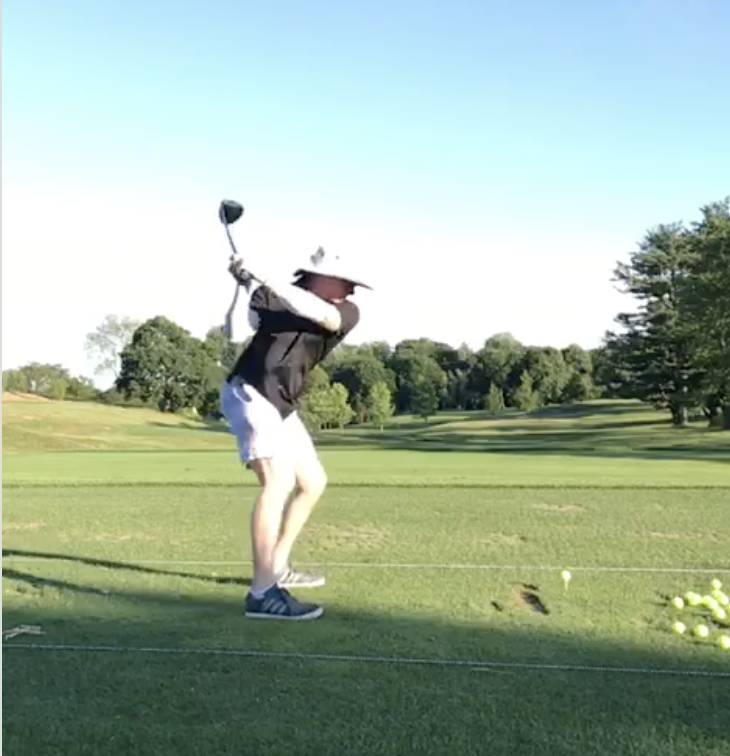Reed Howard Swings Like Moe Norman