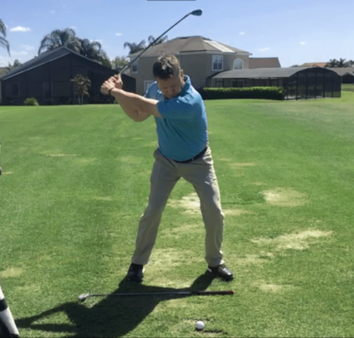 Todd Graves Golf Swing Transition